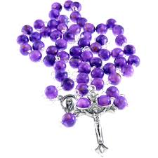 purple rosary purple rosary my rosary