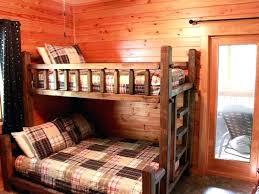 Cabin Bunk Beds Log Cabin Bunk Beds Log Cabin Window Treatments Ideas Astonishing