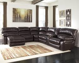 Homestretch Reclining Sofa by Reclining Sectional W Console U0026 Right Press Back Chaise By