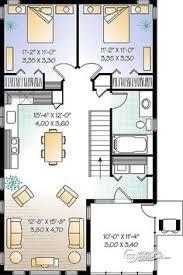 3 Bedroom 2 Bath Open Floor Plans Really Like This One Garage Apartment Floor Plan 2 Bedrooms 2