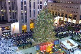 2017 rockefeller center tree lighting at rockefeller