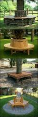 octagon tree bench militariart com