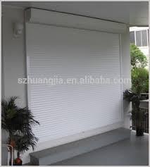 Patio Door Security Shutters Patio Door Security Shutters With High Security 1 2mm Thickness