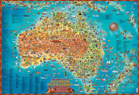 map od australia melbourne map centre australia australian maps flat