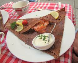 cuisine rennes a smoked salmon galette dinner in rennes is the home of