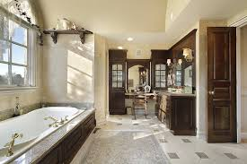Luxury Custom Bathroom Designs  Tile Ideas Designing Idea - White cabinets bathroom design