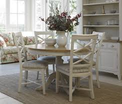 Cream Round Table And Chairs Cute Painted Oak Dining Table And Chairs Cream Colored Room Chair