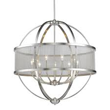 Jefferson 9 Light Chandelier Traditional - colson pw lighting collection u003cbr u003e 3167 pw series pewter finish