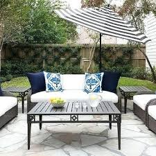 Blue And White Striped Patio Umbrella Blue And White Patio Umbrella Striped Umbrellas Design Ideas Gray