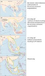 Ccw Map Tectonic Evolution Of The Malay Peninsula Inferred From Jurassic