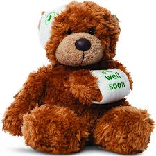 get well soon teddy get well gifts get well soon teddy brown