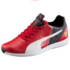 ferrari shoes long life mens puma ferrari evospeed 1 4 39 s shoes rosso corsa