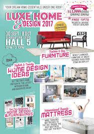 home design expo singapore 30 sep 8 oct 2017 luxe home design 2017 at singapore expo sg