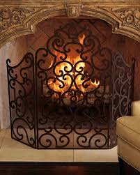 fireplace screen neiman