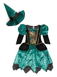 witch dresses for halloween halloween kids creepy cobweb witch costume 3 12 years tu clothing