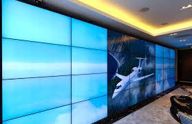planar mosaic video wall more pleasing video wall design home