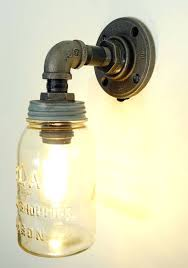 Mason Jar Pendant Light Sconce Mason Jar Pendant Light Fixture Vintage Indoor Sconce