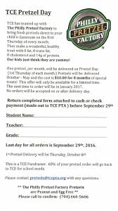pretzel delivery 2016 pretzel friday torrence creek elementary pta