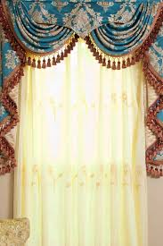 Turquoise Valances For Windows Inspiration Check Out These 20 Beautiful Swag Valance Patterns To Sweeten Your