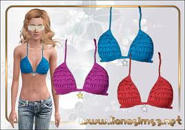 Liana Sims 2 Preview Women S Clothing Swimwear Liana Sims3 Everything For Your Sims 3 Game Free Downloads To