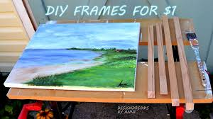 1 diy chunky wood picture frames