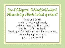 instead of a card bring a book bring a book instead of a card wording 24 best book instead of card