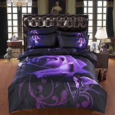 Cheap Purple Bedding Sets Black And Purple Comforter Sets Cheap Size Bed Get