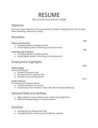 format on how to make a resume format to make resume chronological sle yralaska