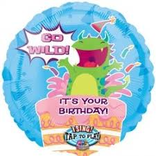 singing birthday delivery singing balloons for birthdys delivery go birthdy sing tune balloon