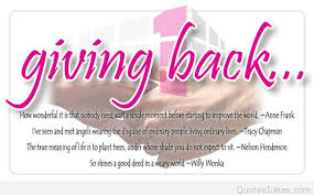 best quotes about giving back with wallpapers and cards