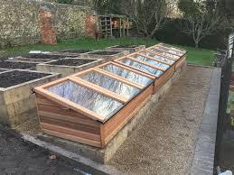 cold frames oak raised beds rt maintenance grounds maintenance