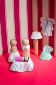 How To Make Homemade Dollhouse Furniture Easy To Make Cupcake Paper Dollhouse Furniture U2014 Super Make It