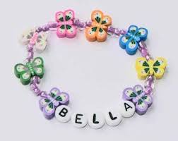 infant name bracelet name bracelet personalized children s jewelry 1 set