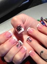 29 nautical nails 62 fabulous french tip designs
