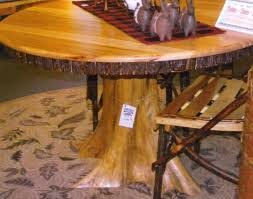 Redwood Dining Table Dining Awesome Tree Dining Tables A Rustic This Old Growth