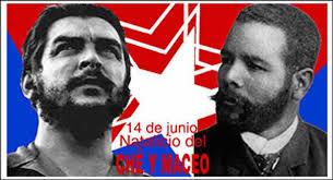 Foto de Antonio Maceo y Ernesto Guevara