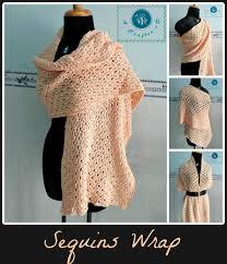 crochet wrap crochet sequins wrap maz kwok s designs