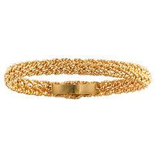 gold hand bracelet images Small gold hand woven bracelet jpg