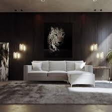 grey sofa modern light gray odeon sectional fabric sofa with ottoman