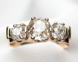 mine cut engagement ring mine cut engagement ring