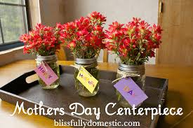 Mother S Day Decorations Mothers Day Centerpiece Blissfully Domestic