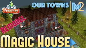 sims freeplay magical house remodeled original house design