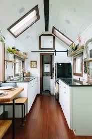 Kitchen Cabinets Portland Or A Luxury Tiny House On Wheels In Portland Oregon Built By Tiny