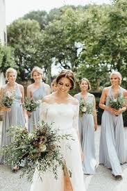 bridesmaids wedding dresses lavish yet laid back tuscan wedding at villa passerini gray