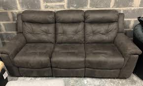 Dfs Recliner Sofa Dfs Toward 3 Seater Suede Recliner Sofa In Pontardawe Swansea