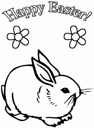 coloring pages easter bunnies coloring