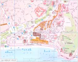French Riviera Map Map Of Nice France Recana Masana