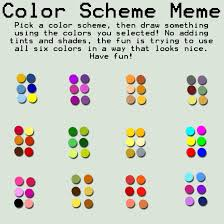 Use All The Memes - color scheme meme by strawberryr on deviantart