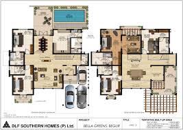 villa house plans remarkable design villa house plans bright inspiration luxury floor