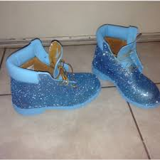 40 off timberland boots custom glitter timbs from shay u0027s closet